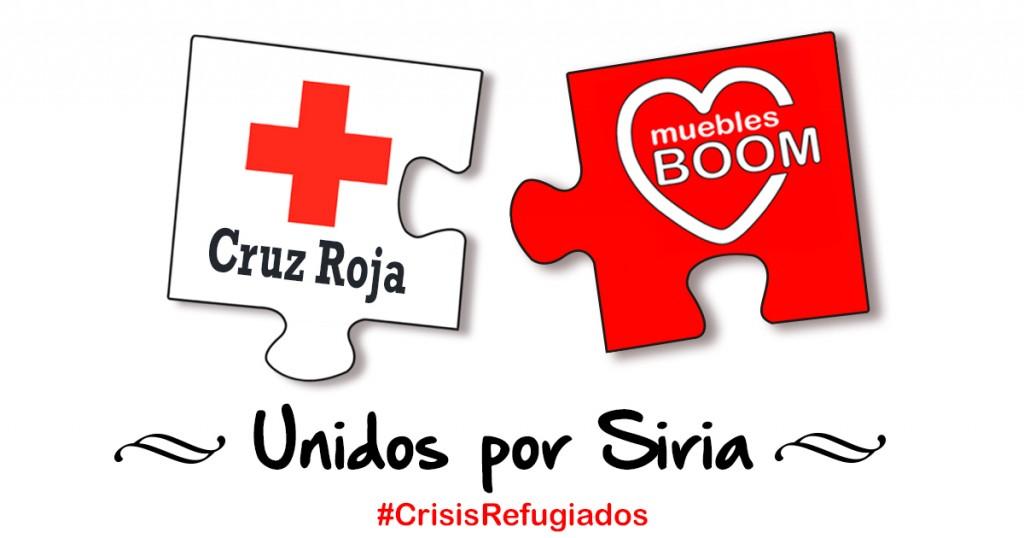 Cruz Roja y Muebles BOOM Unidos por Siria
