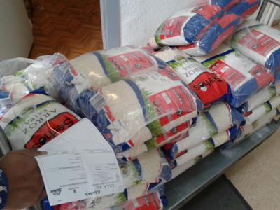 Donación alimentos Muebles BOOM - Caritas Burgos